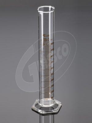 Cylinder, Measuring, Graduated Class B, Hex Base 0269