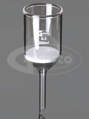 Funnels, Buchner, with sintered disc