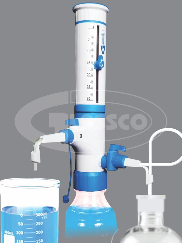 GLASSCO BOTTLE TOP DISPENSER with dual inlet