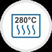 280°C