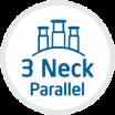 3 Neck Parallel