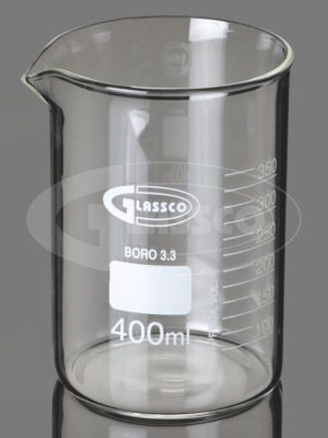 Beaker low form with spout