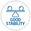 GOOD STABILITY