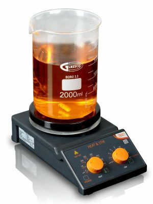 STAINLESS STEEL TOP Magnetic Stirrer with Hotplate - Analog 710DNAG