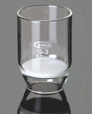 Filter, Crucible, with sintered disc 91 b