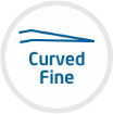 curved fine