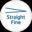 straight fine