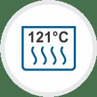 121° C