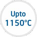upto 1150°C
