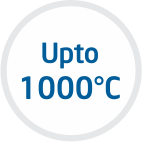 UP TO 1000° C