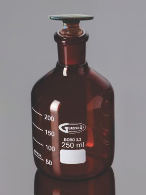 Bottle, Reagent Narrow Mouth, Amber 273.276.01