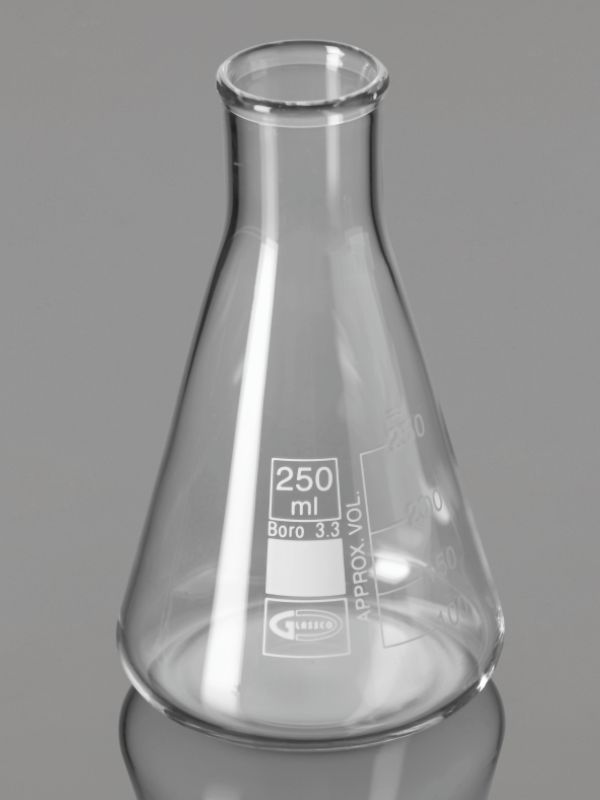 Flasks, Heavy Duty, Conical (Erlenmeyer) Narrow Mouth 231.237.01