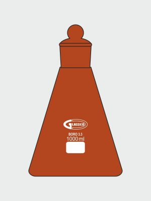Flask, Erlenmeyer, Conical, Narrow Mouth 076.502.01