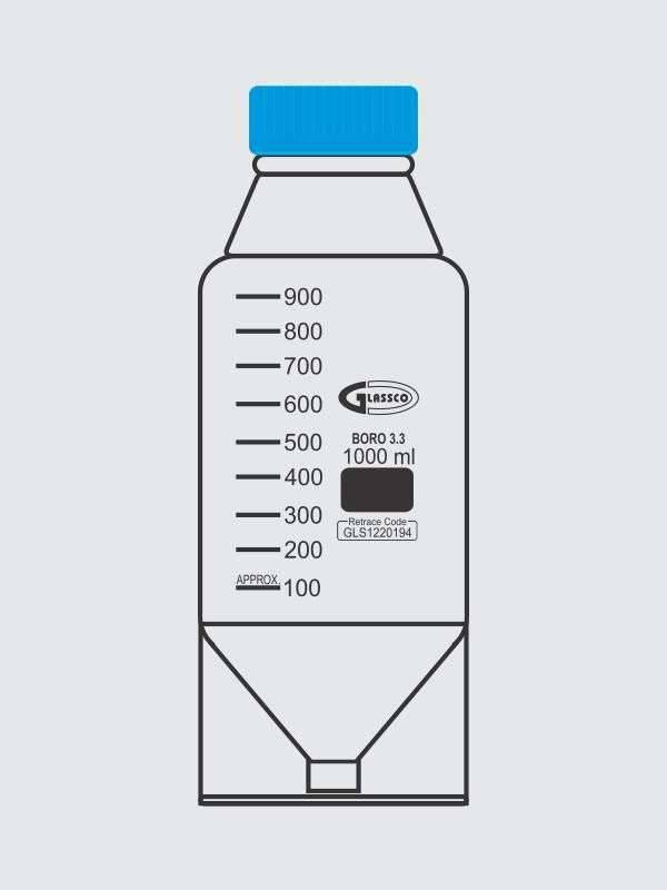 Bottle, HPLC Mobile Phase 274.213.04